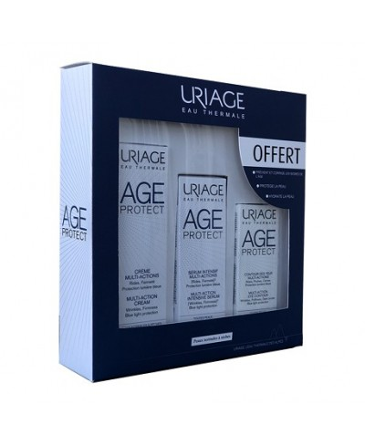 URIAGE AGE PROTECT COFFRET PROGRAMME INTENSIF ANTI-AGE PEAUX NORMALES A SECHES