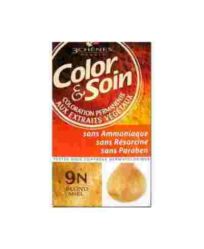 COLORATION COLOR & SOIN 9N BLOND MIEL