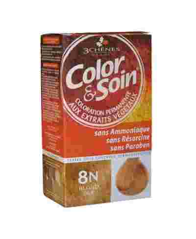 COLORATION COLOR & SOIN 8N BLOND BLE